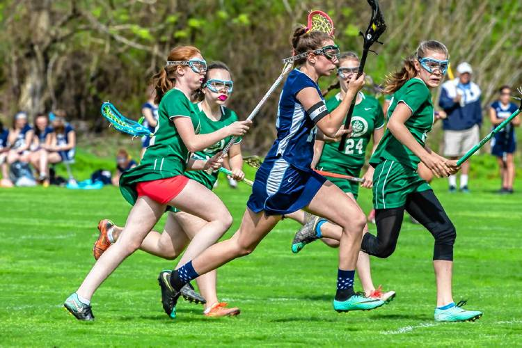 Dominant Bement girls' lacrosse team has ridden tidal wave of success